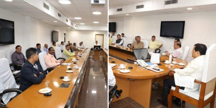 Assam Cabinet meeting