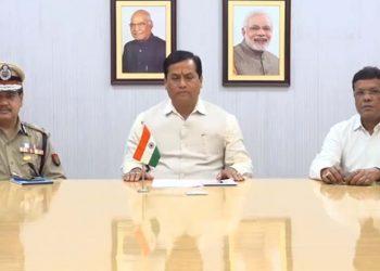File image of Assam CM Sarbananda Sonowal