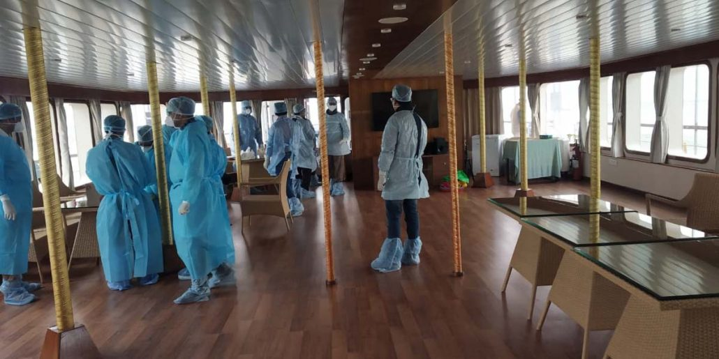 Coronavirus scare: Cruise ship MV Mahabahu asked not to leave Jorhat 1