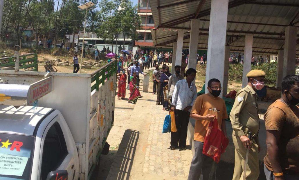 Assam: Vegetables sold at five points in Haflong amid strict vigil 1