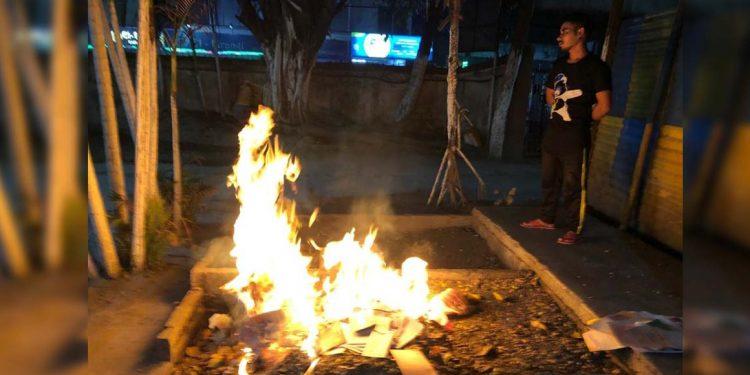 Documents burnt