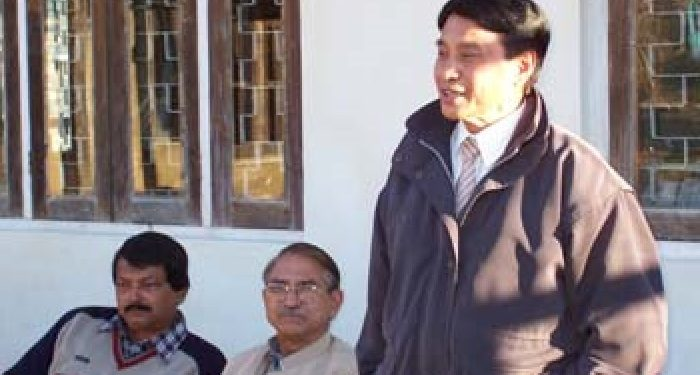 File image of Dr T M Lotha