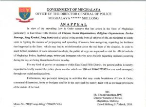Unite to fight against rumour & hate-mongers: Meghalaya Police 1