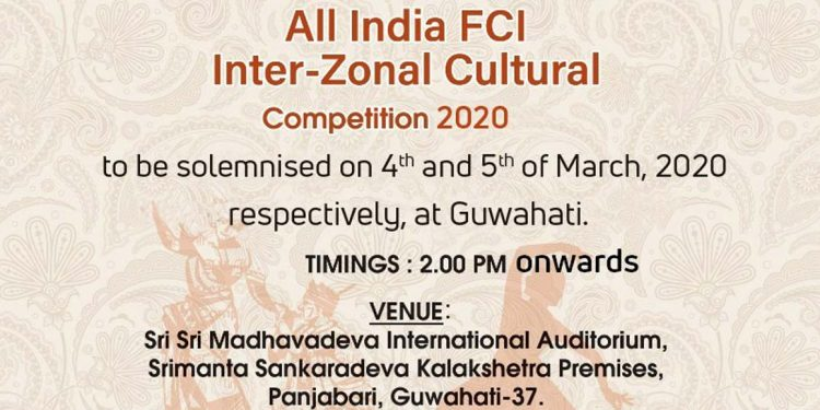 Guwahati to host All India FCI Inter-Zonal Cultural Competition 1