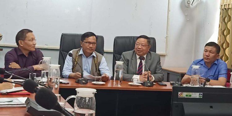 Mizoram health dept meeting