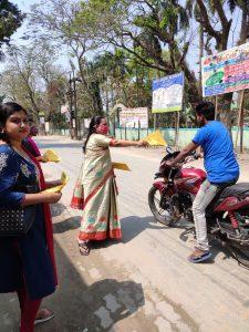 Assam: Dhubri students make own hand sanitizers 1