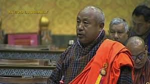 File image of Bhutan agriculture minister Lyonpo Yeshey Penjor