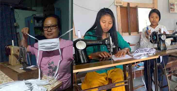 'Mask women of Changlang' conquer challenges of scarcity in far-east of India 1
