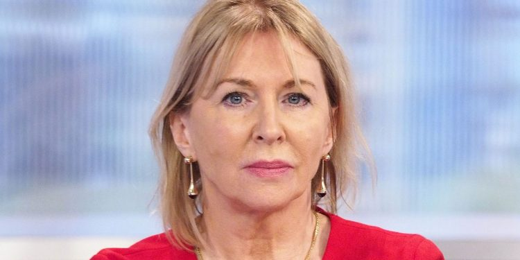 File image of Nadine Dorries. Image courtesy: Sky News