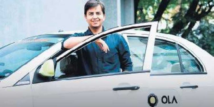 File image of Ola CEO Bhavish Aggarwal. Image courtesy: New Indian Express