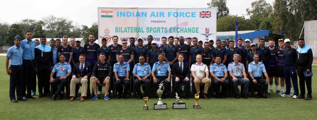 IAF beat UK Armed Forces in bilateral cricket tourney 2