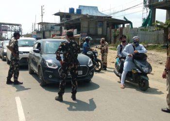 Lockdown in Itanagar