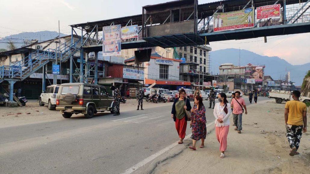 Arunachal Pradesh: Public defy lockdown order 1