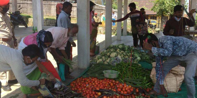 Vegetable in Dima Hasao