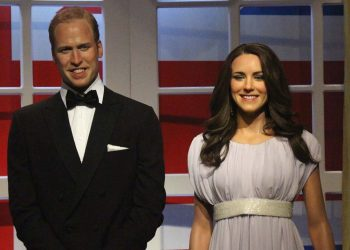 Prince William with wife Kate Middleton
