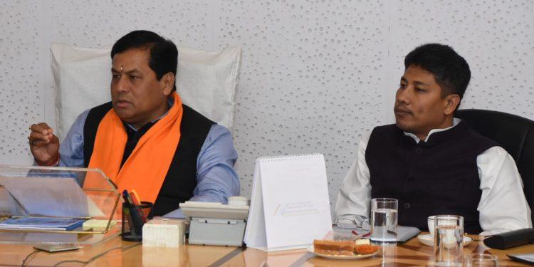 Assam CM Sarbananda Sonowal reviews health department's preparedness on Coronavirus