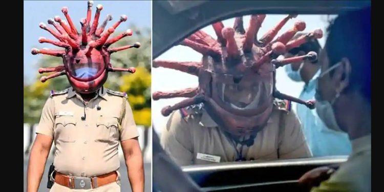 corona helmet