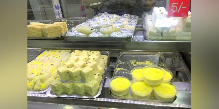West Bengal sweet shop
