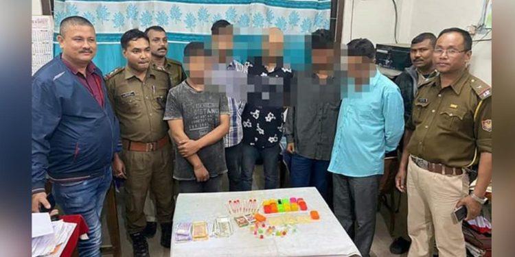 Drug peddlers in police custody. Image: Northeast Now