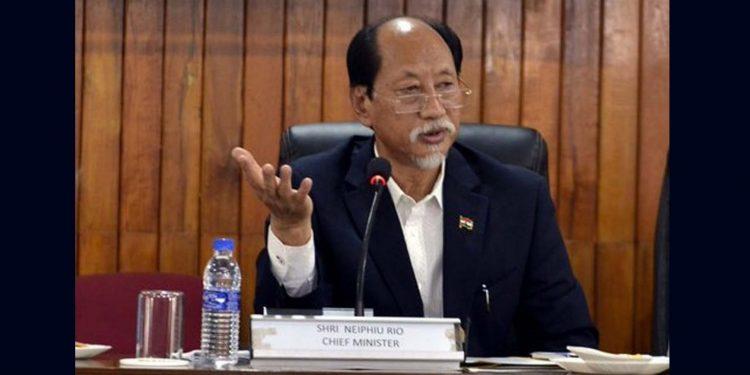 Nagaland CM Neiphiu Rio. (File image)