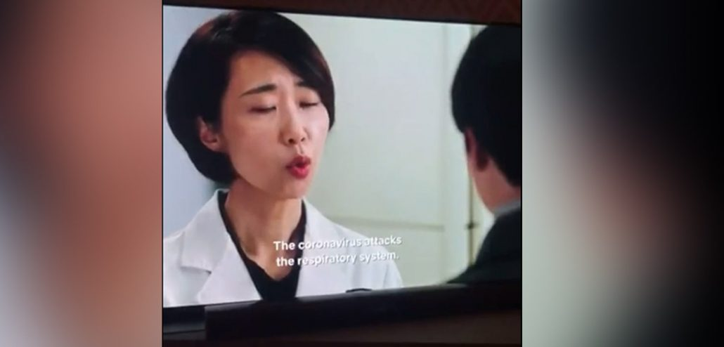 South Korean drama series predicted coronavirus pandemic in 2018, video goes viral 1