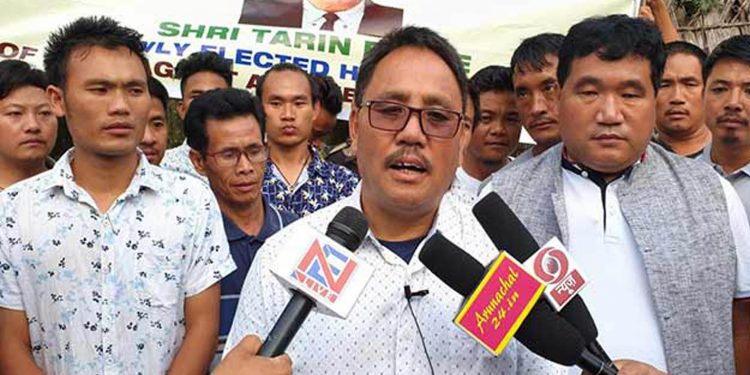 File image of Raga legislator Tarin Dakpe. Image credit: arunachal24.in