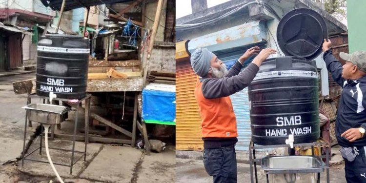 Coronavirus outbreak: Meghalaya government installs 10 hand wash facilities across Shillong 1