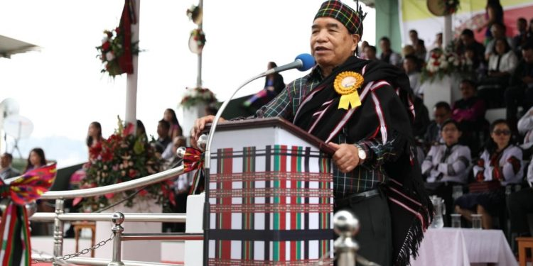 Mizoram chief minister Zoramthanga on Friday called upon the people to promote Mizo moral code and tradition.