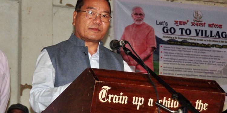 File image of Manipur agriculture minister V Hangkhalian