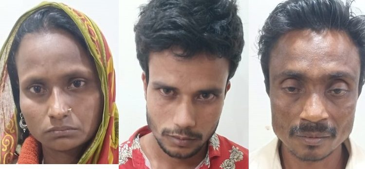 The three accused. Image: Northeast Now