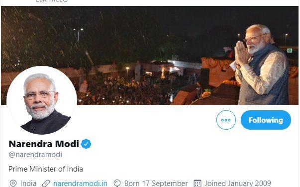 Modi gives his social media accounts to seven women achievers 1