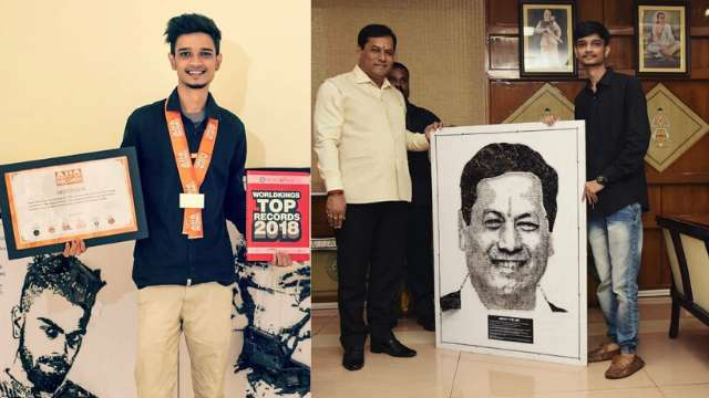 Assam artist makes to Asia Book of Records 1