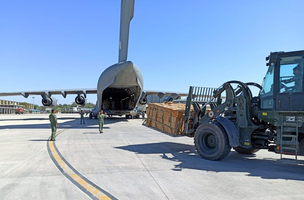 COVID19: IAF airlifts 25 tons of medical supplies to Northeast, other states in 3 days 1