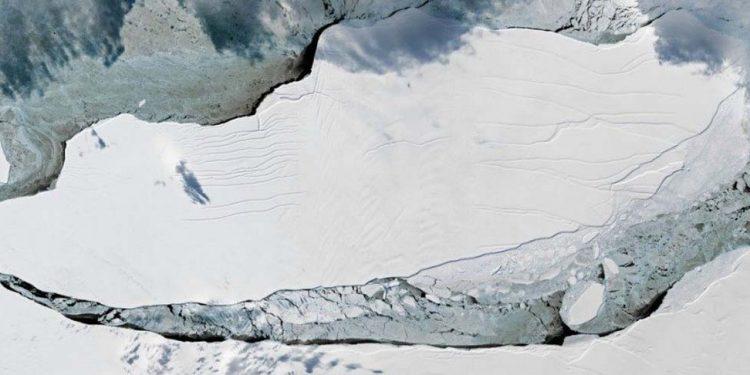 A-68 in Antarctica