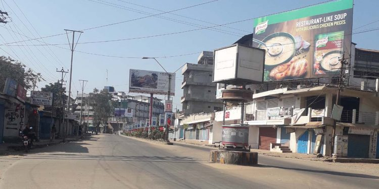 Lockdown in Dimapur