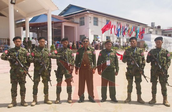Chinese weapons for Arakan Army through Bangladesh