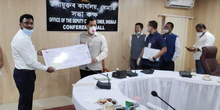 Assam CM at Dhemaji