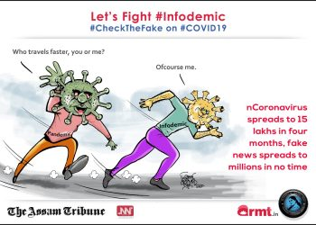 The rise of infodemics during the COVID19 pandemic has increased to millions in no time