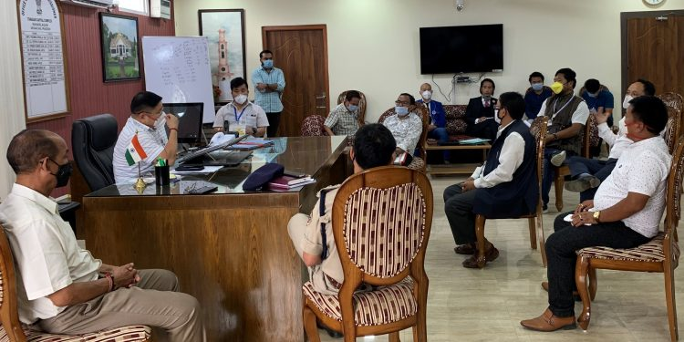 The caution from the DC came during a meeting which was convened at his office in Itanagar.