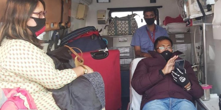 Manipur ace boxer Dingko Singh airlifted to Delhi for cancer treatment 1