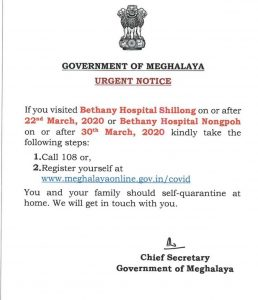 Shillong doctor first COVID19 positive case of Meghalaya 4