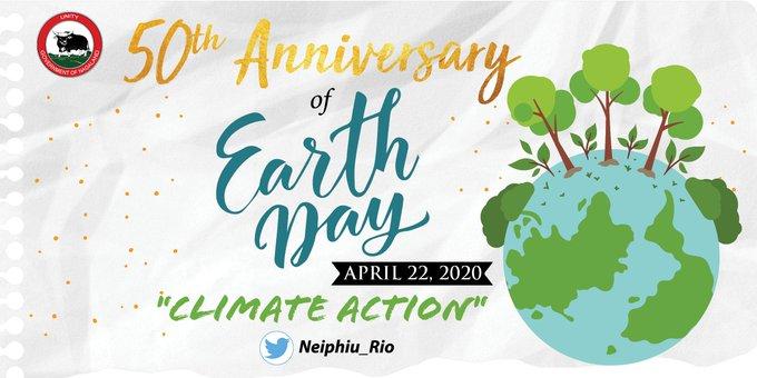Nagaland CM's call on International Earth Day 1
