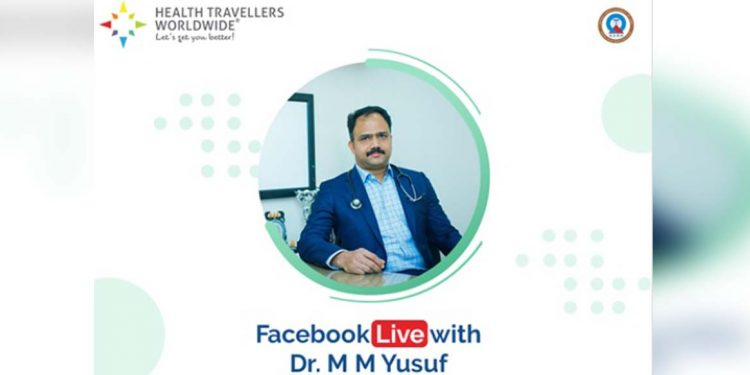 Facebook live with Dr MM Yusuf