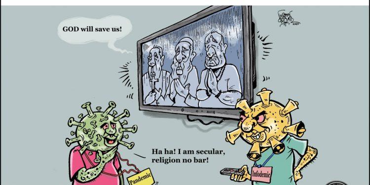 #CheckTheFake-3: nCoronavirus is secular 1