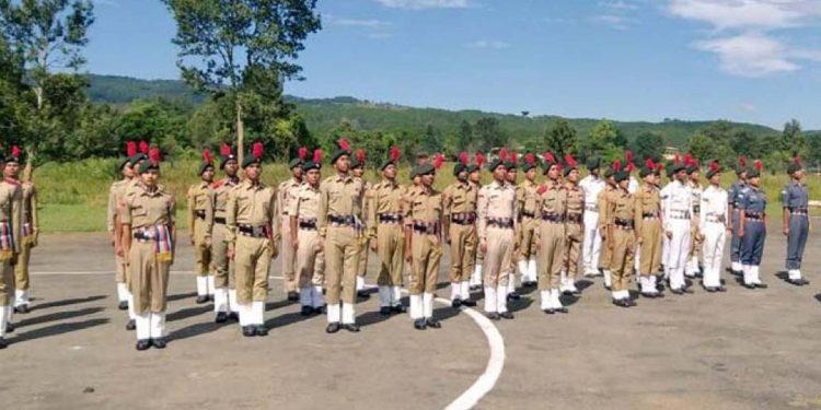 NCC cadets Shillong