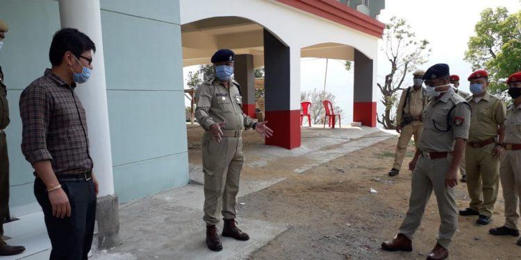 Haflong quarantine centre