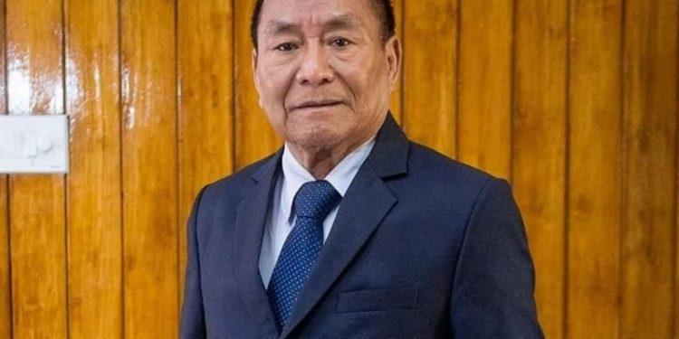 File image of former Mizoram Assembly Speaker Hiphei