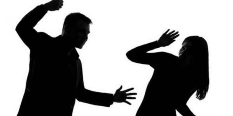 Husband thrashes woman