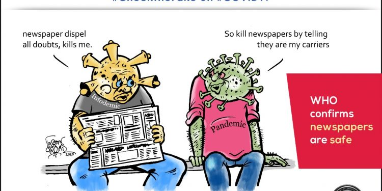 #CheckTheFake-21: Newspaper – A carrier of information or virus? 1