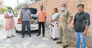 50-year-old Sheelamma Vasan was accompanied by her daughter-in-law and another relative during her 3-day journey.